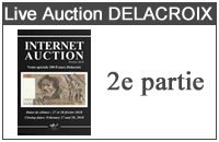 Internet Auction 100 Francs DELACROIX